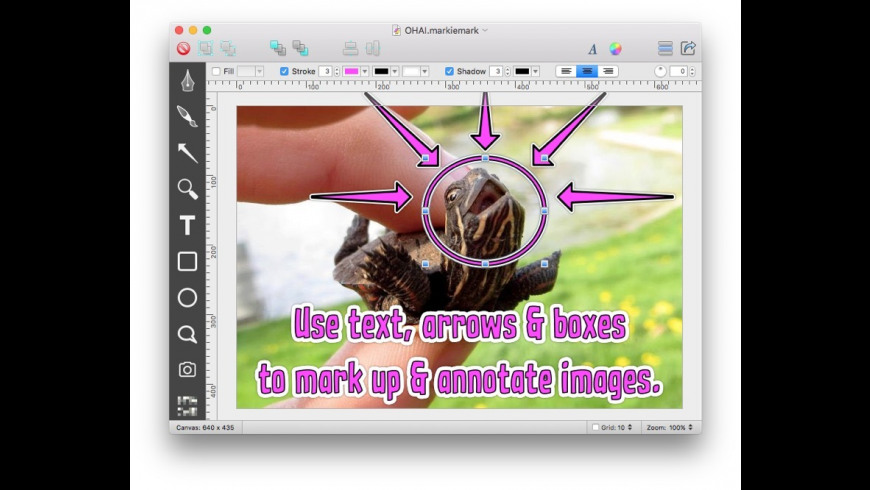 MarkieMark for Mac - review, screenshots