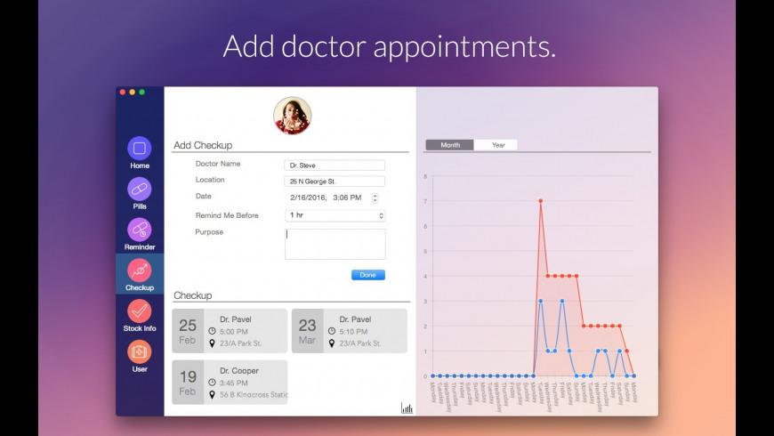 Medication for Mac - review, screenshots