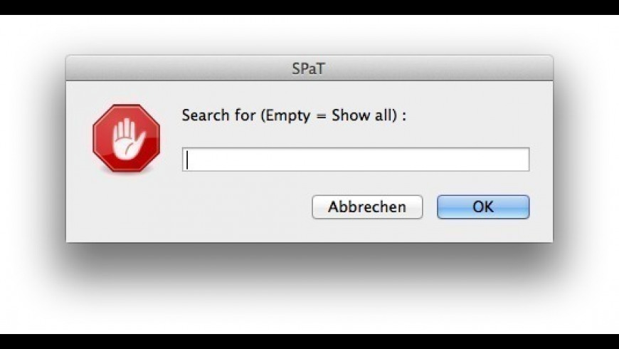 SPaT for Mac - review, screenshots