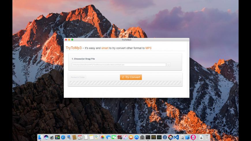 TryToMp3 for Mac - review, screenshots