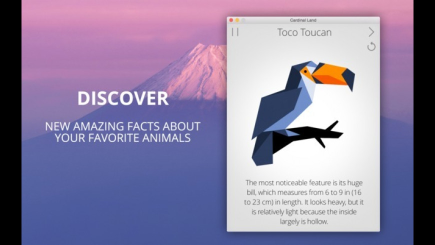 Cardinal Land for Mac - review, screenshots