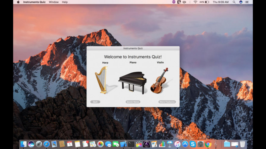 Instruments Quiz for Mac - review, screenshots