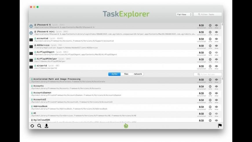 TaskExplorer for Mac - review, screenshots