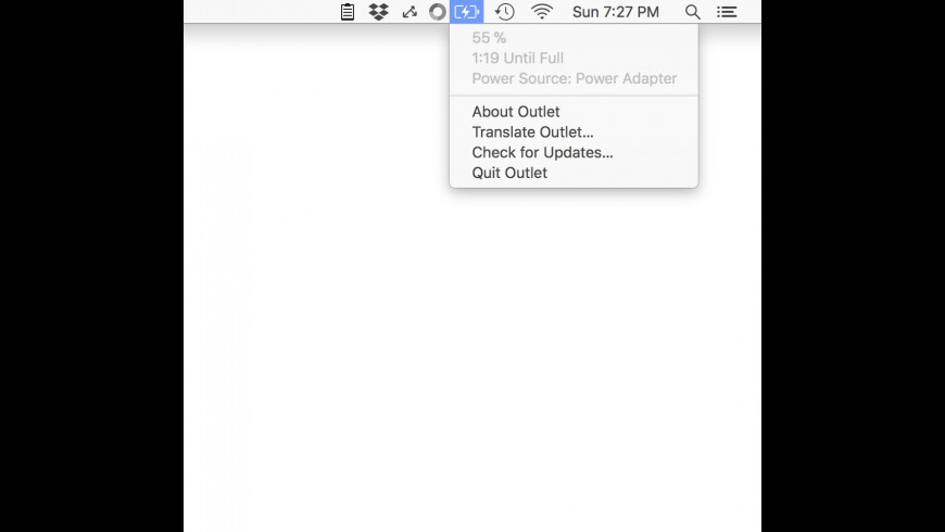 Outlet for Mac - review, screenshots