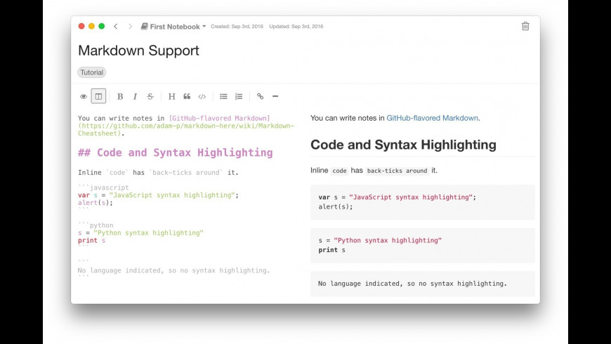 Inkdrop for Mac - review, screenshots