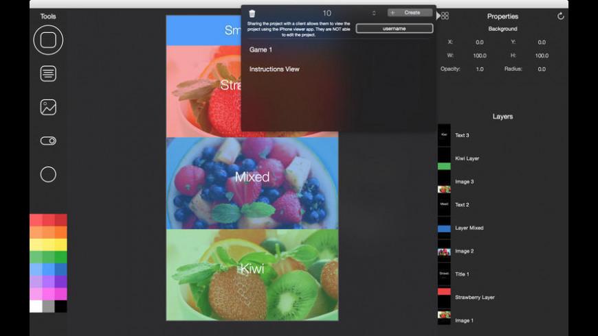 App Design Studio for Mac - review, screenshots