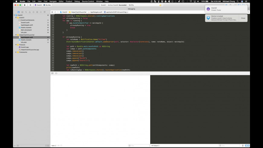 Overkill for Mac - review, screenshots