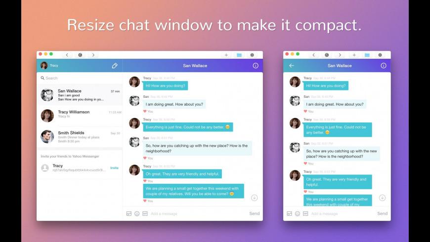 MessengerApp for Yahoo for Mac - review, screenshots