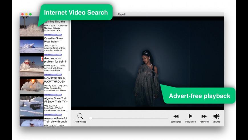 Playall for Mac - review, screenshots