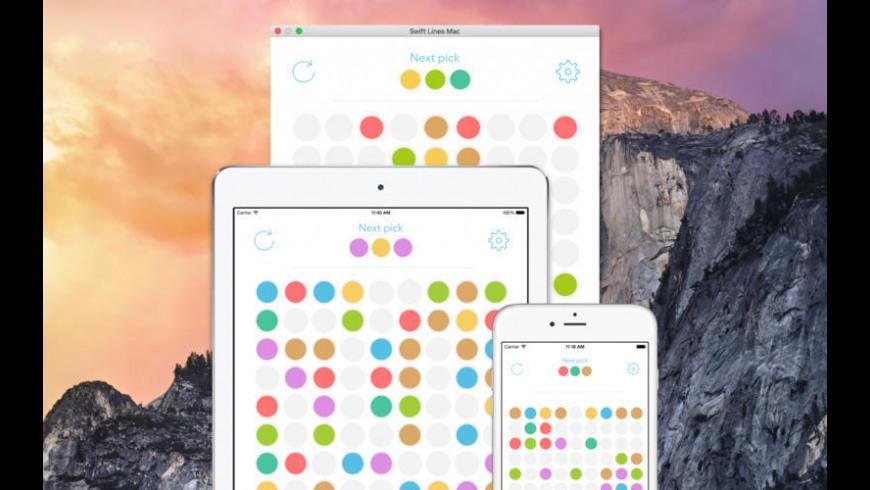 Color Lines for Mac - review, screenshots