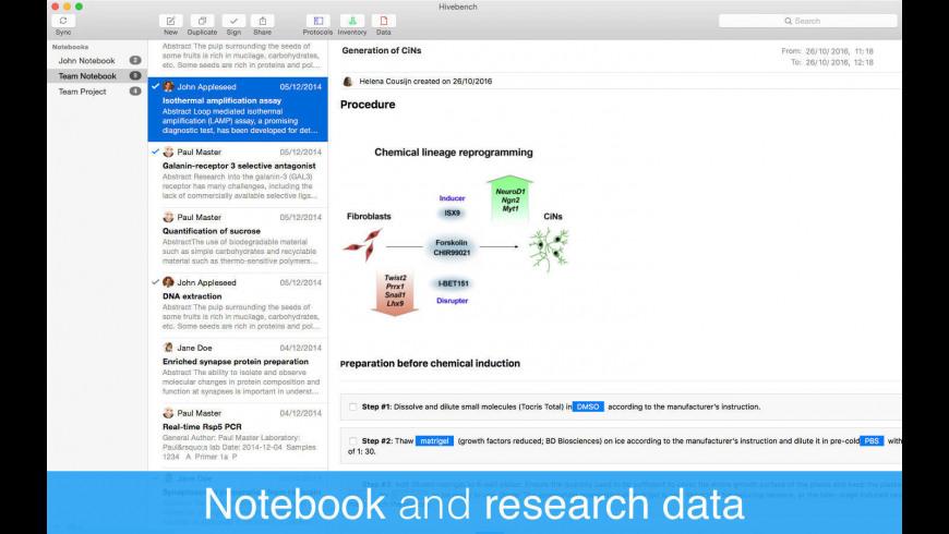 Hivebench for Mac - review, screenshots
