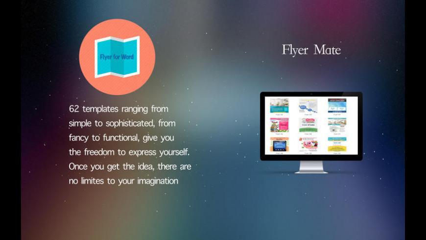 Flyer Mate for Mac - review, screenshots