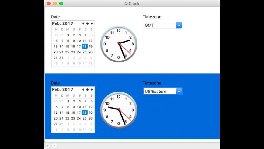 QIClock for Mac - review, screenshots