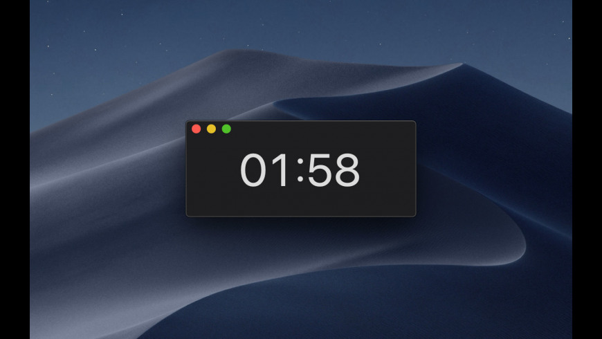 Just a Timer for Mac - review, screenshots