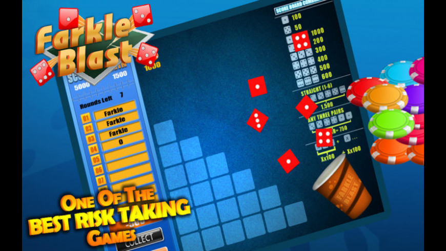 Farkle Blast for Mac - review, screenshots