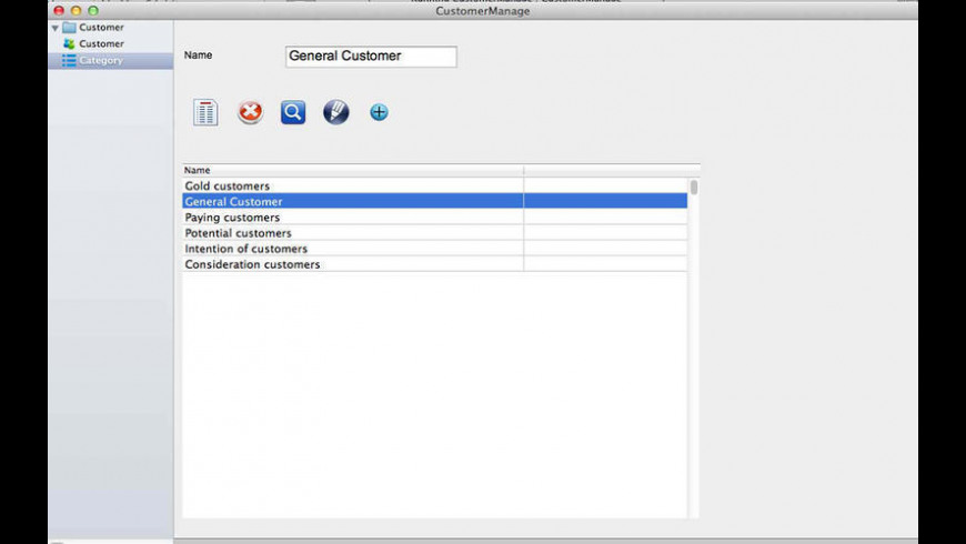 CustomerManage for Mac - review, screenshots