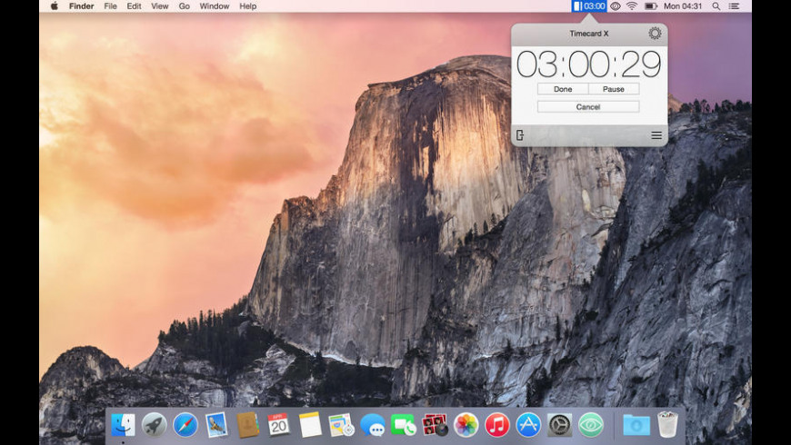 Timecard X for Mac - review, screenshots