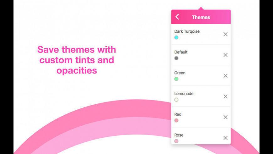 Lume for Mac - review, screenshots