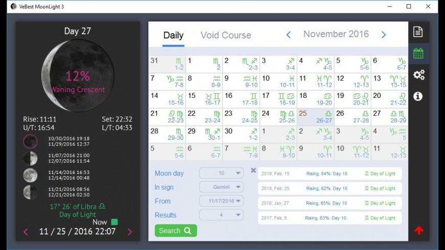 MoonLight for Mac - review, screenshots