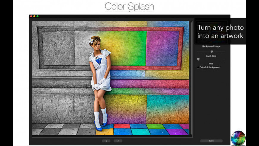 Color Drips for Mac - review, screenshots
