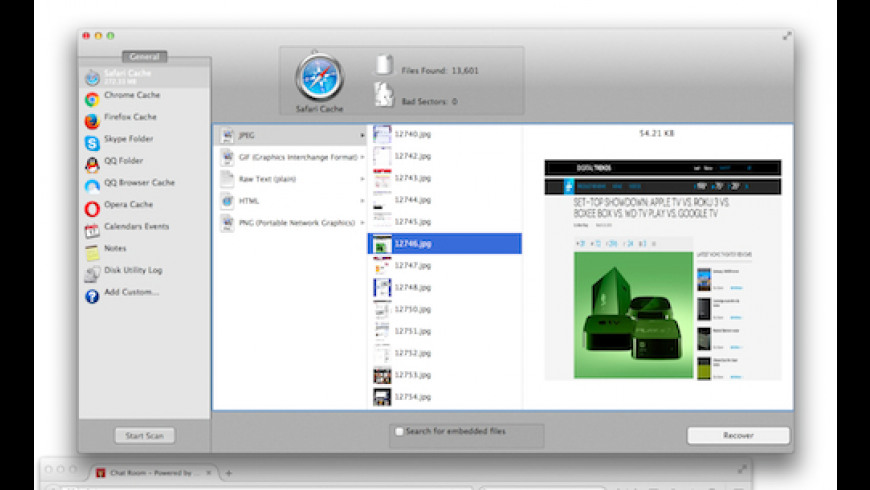 Cache Detective for Mac - review, screenshots