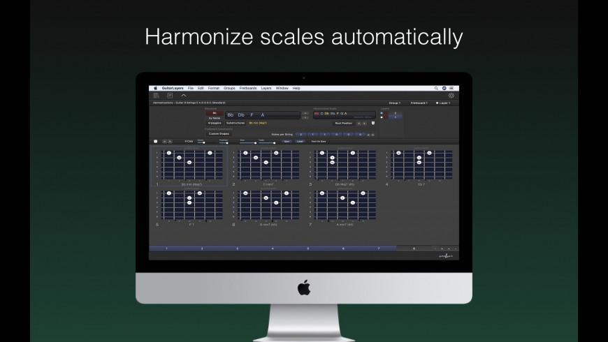 GuitarLayers for Mac - review, screenshots
