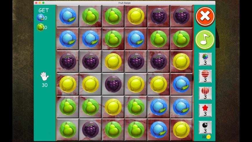 Fruit Swipe for Mac - review, screenshots