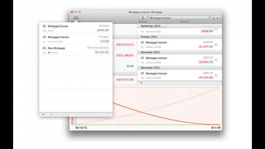 Cashflows for Mac - review, screenshots