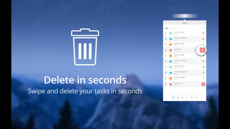 Tasks for Mac - review, screenshots