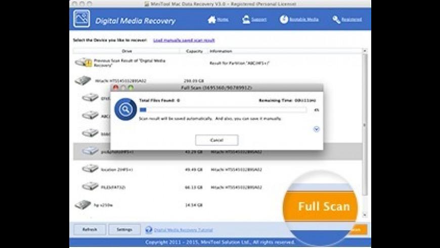MiniTool Mac Data Recovery for Mac - review, screenshots