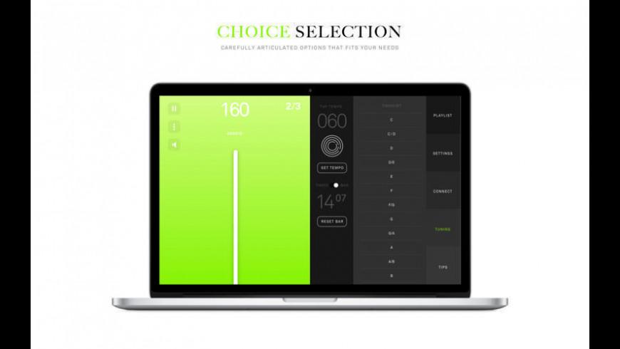 Metronome for Mac - review, screenshots