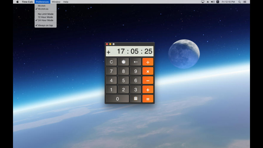 Time Calc for Mac - review, screenshots