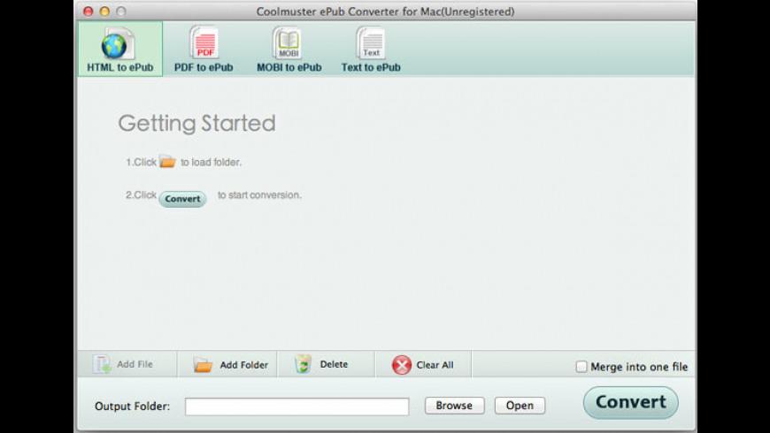 Coolmuster ePub Converter for Mac - review, screenshots