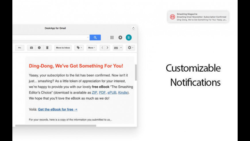 Mail for Gmail 1 1 1 Free Download for Mac | MacUpdate