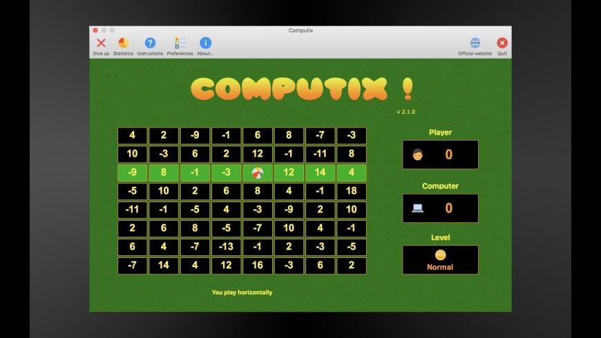 Computix ! for Mac - review, screenshots