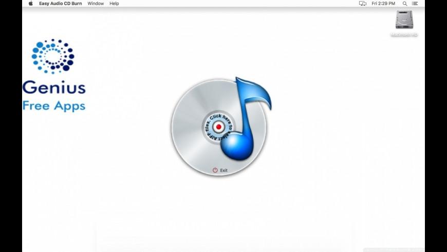 Easy Audio CD Burn for Mac - review, screenshots