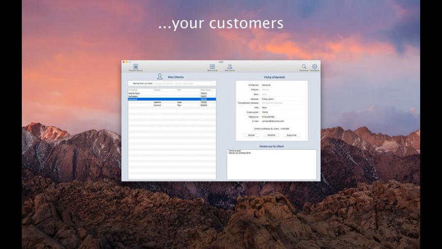 iziBill for Mac - review, screenshots