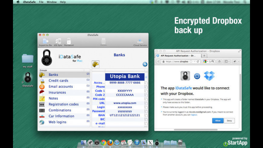 iDataSafe for Mac - review, screenshots