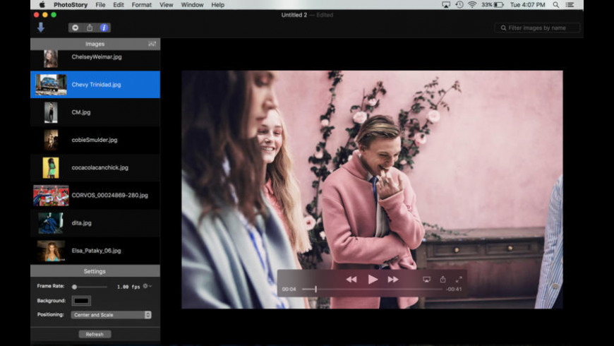 PhotoStory NS for Mac - review, screenshots