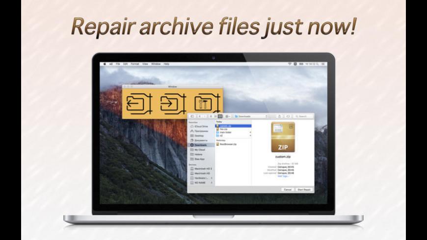 xZ for Mac - review, screenshots