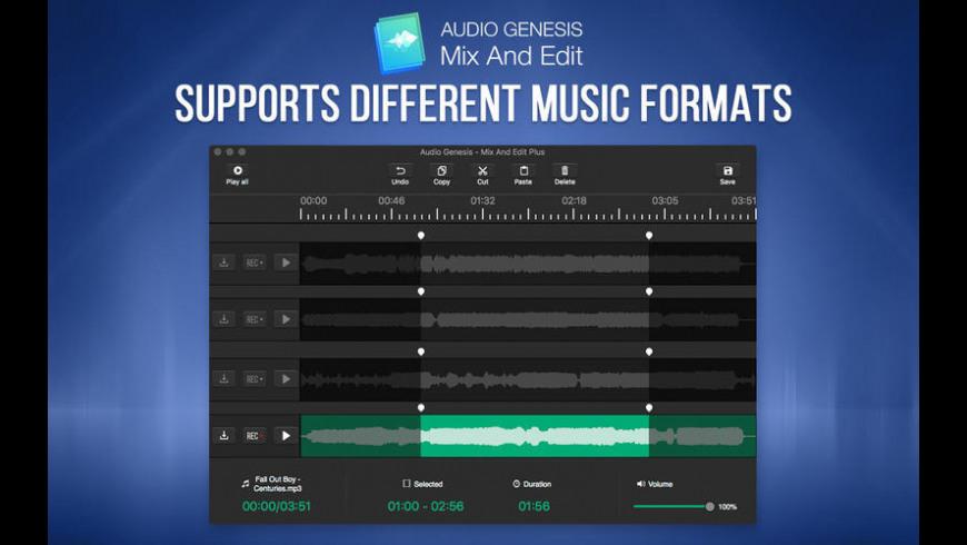 Audio Genesis for Mac - review, screenshots
