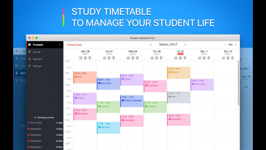 Student Assistant for Mac - review, screenshots