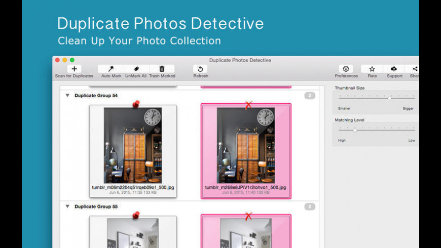 Duplicate Photos Detective for Mac - review, screenshots