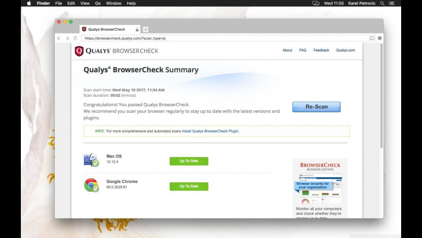 Secure Web Browser for Mac - review, screenshots