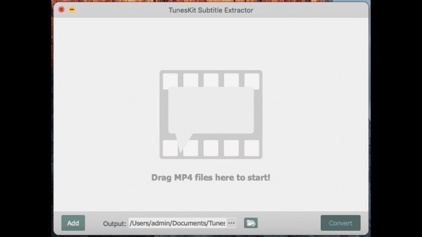 TunesKit Subtitle Extractor for Mac - review, screenshots