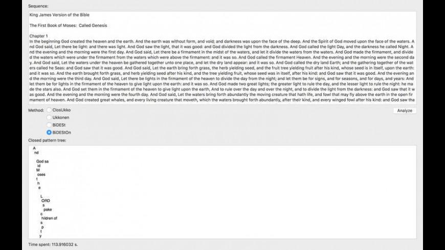 PatMinr for Mac - review, screenshots