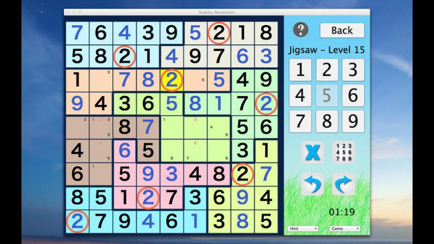 Sudoku Revolution for Mac - review, screenshots
