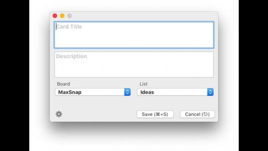 Quick Entry for Trello for Mac - review, screenshots