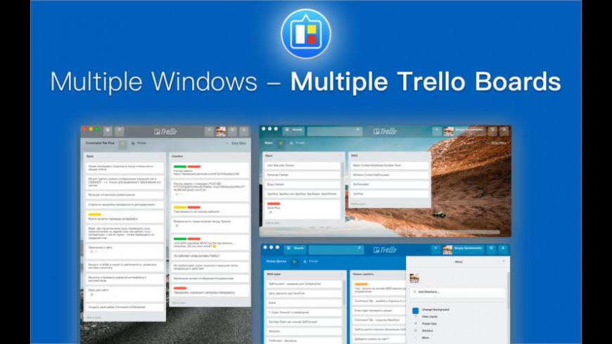 QuickTab for Trello for Mac - review, screenshots