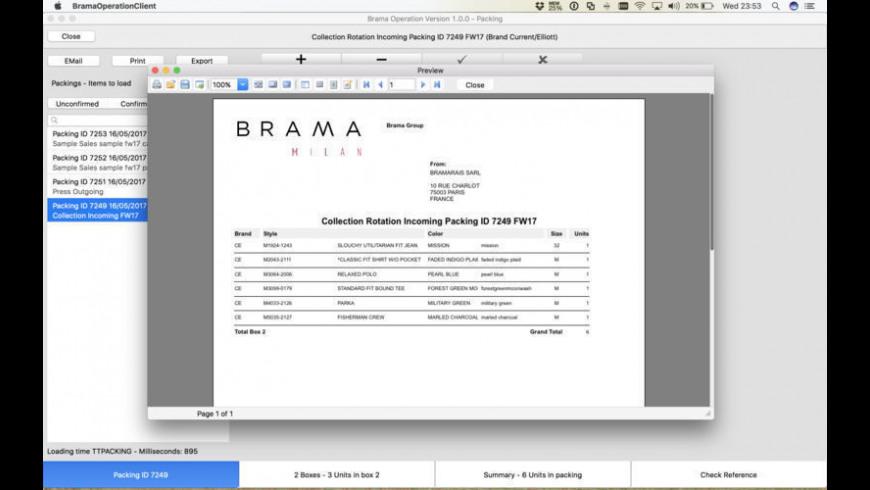 Brama Operation for Mac - review, screenshots